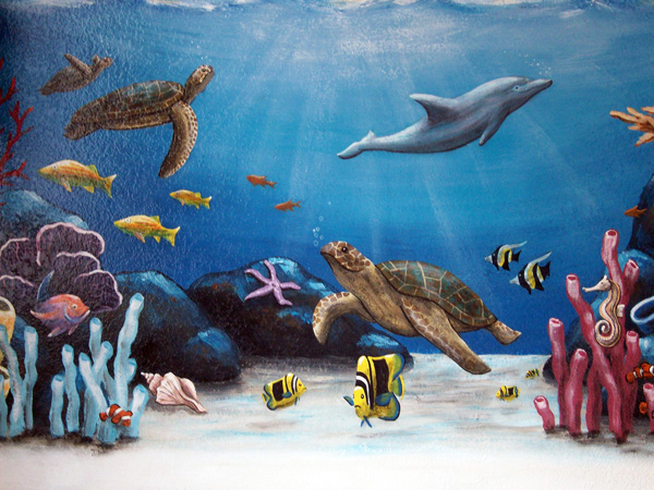 ocean murals 2017 grasscloth wallpaper ocean wall murals beach themed murals undersea animals
